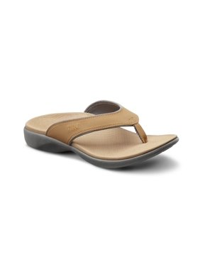 Dr. Comfort Shannon Women's Orthotic Support Sandals - Camel