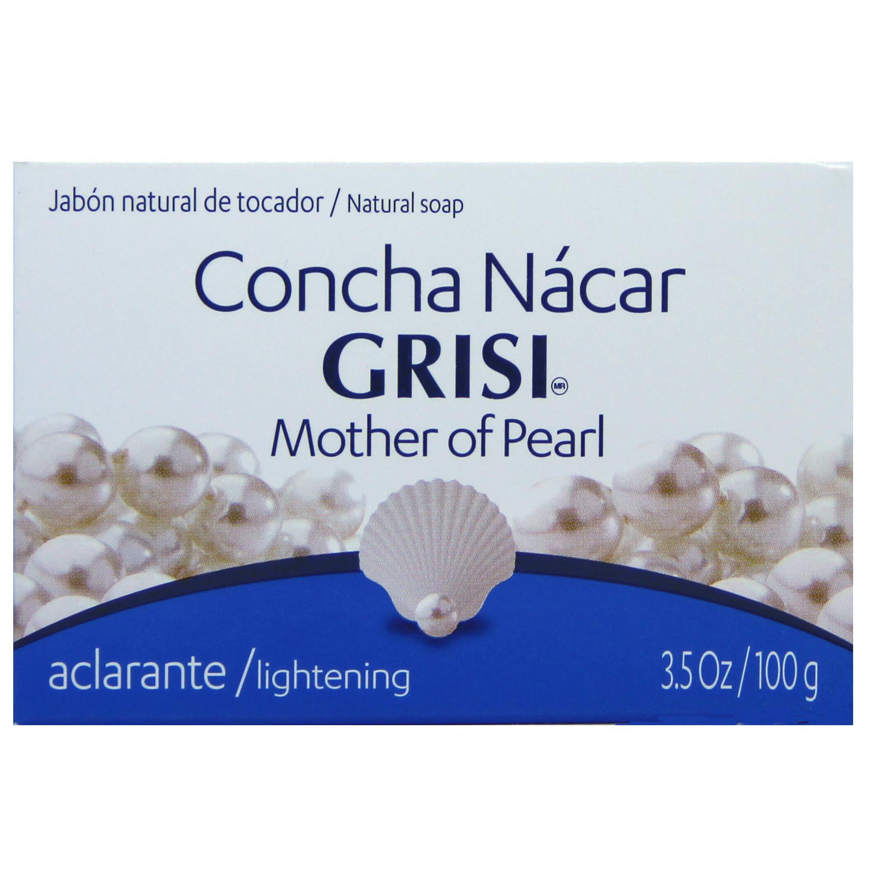 Grisi Soap - Concha Nacar 3.5 Oz