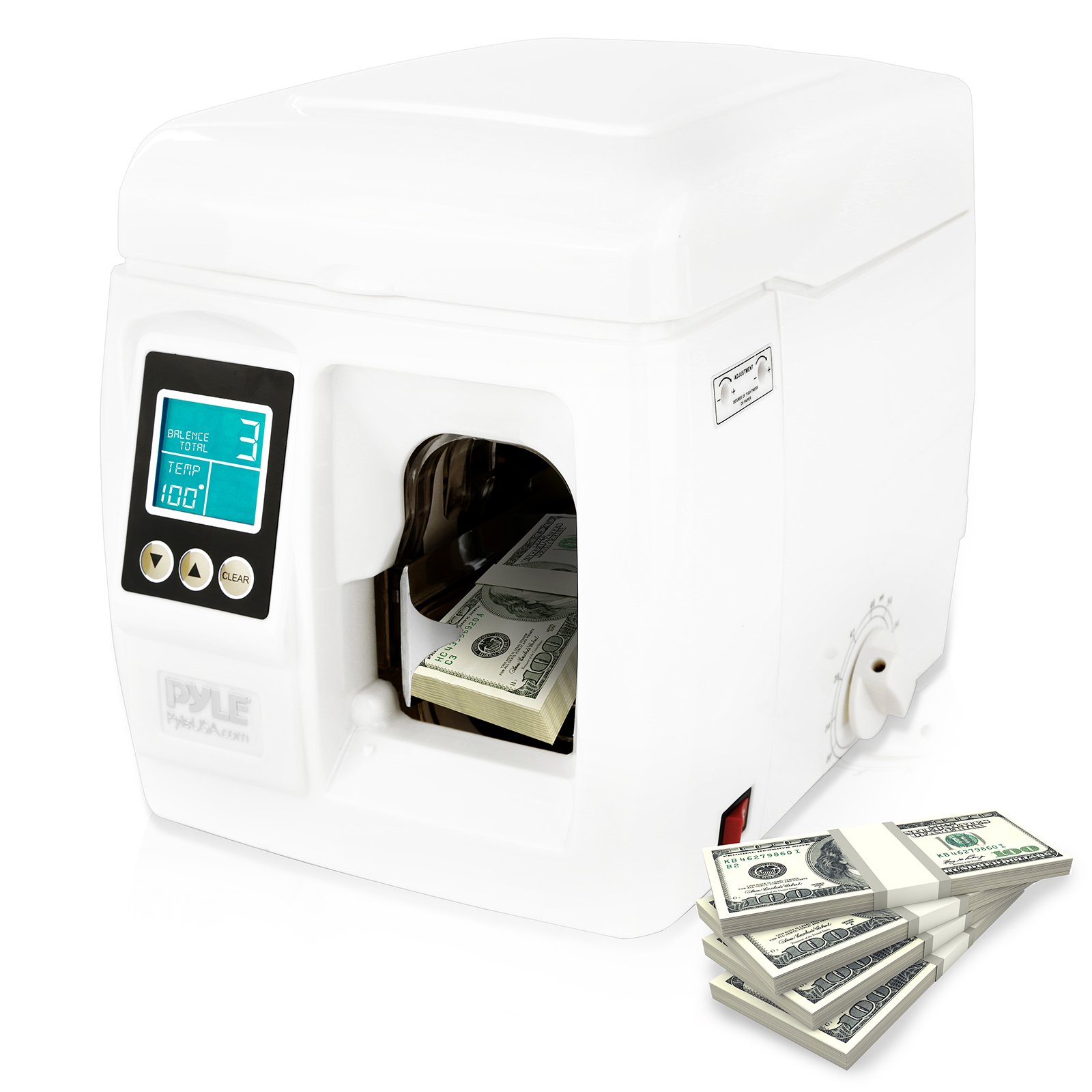 Bill Currency Binding Machine - Automatic Bank-Note Money Strapping Binder
