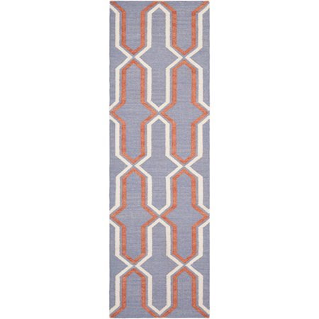 Safavieh Dhurrie Alexis Geometric Moroccan Area Rug or Runner ()