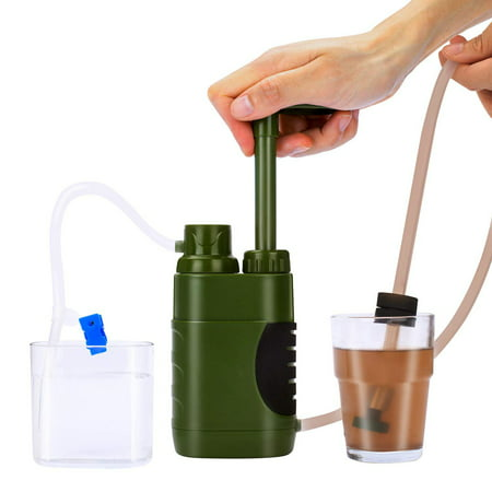 Outdoor Water Filter Straw Water Filtration System Water Purifier for Family Preparedness Camping Hiking Emergency - image 6 of 7