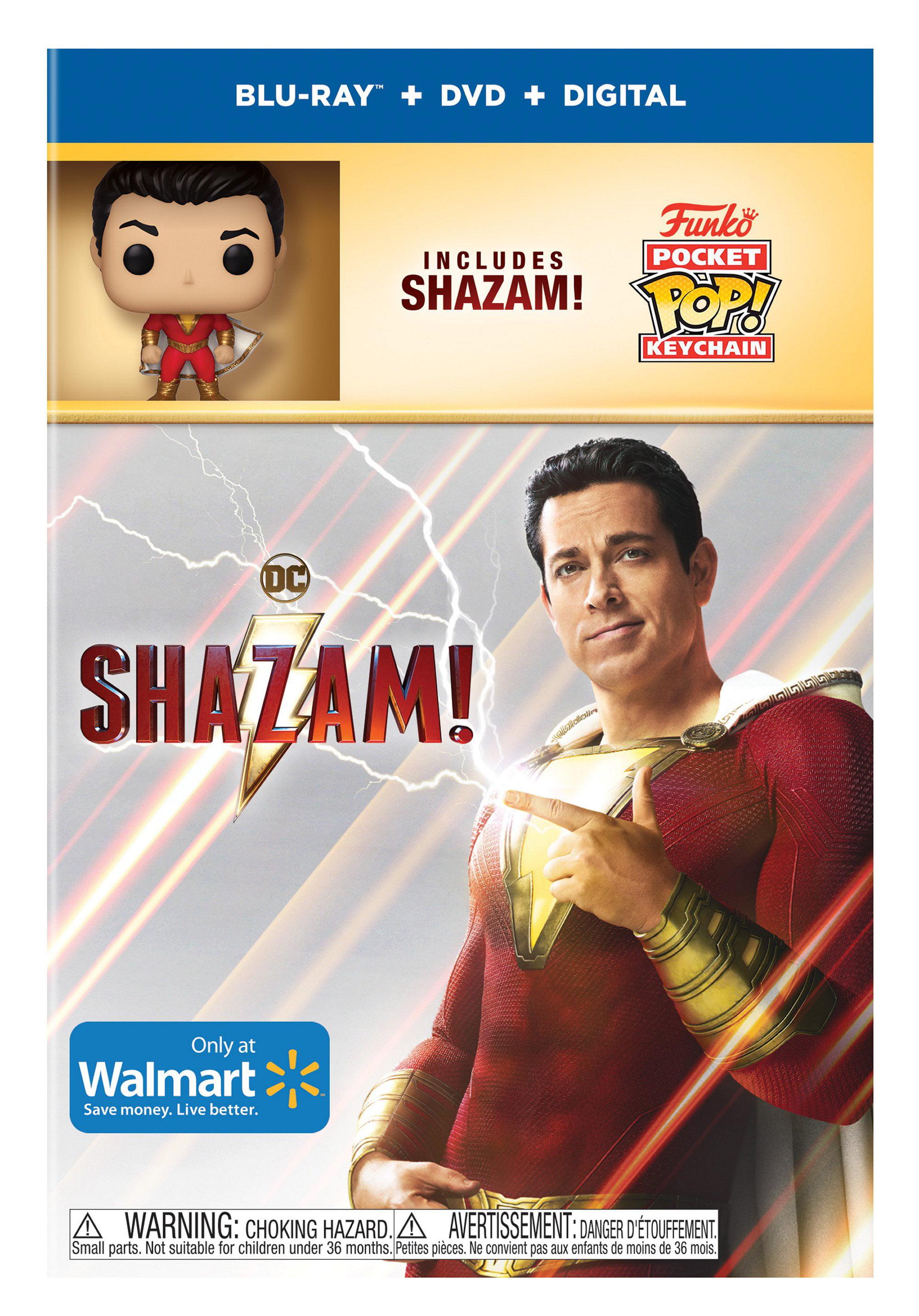Shazam! (Blu-ray + DVD) - Walmart.com - Walmart.com