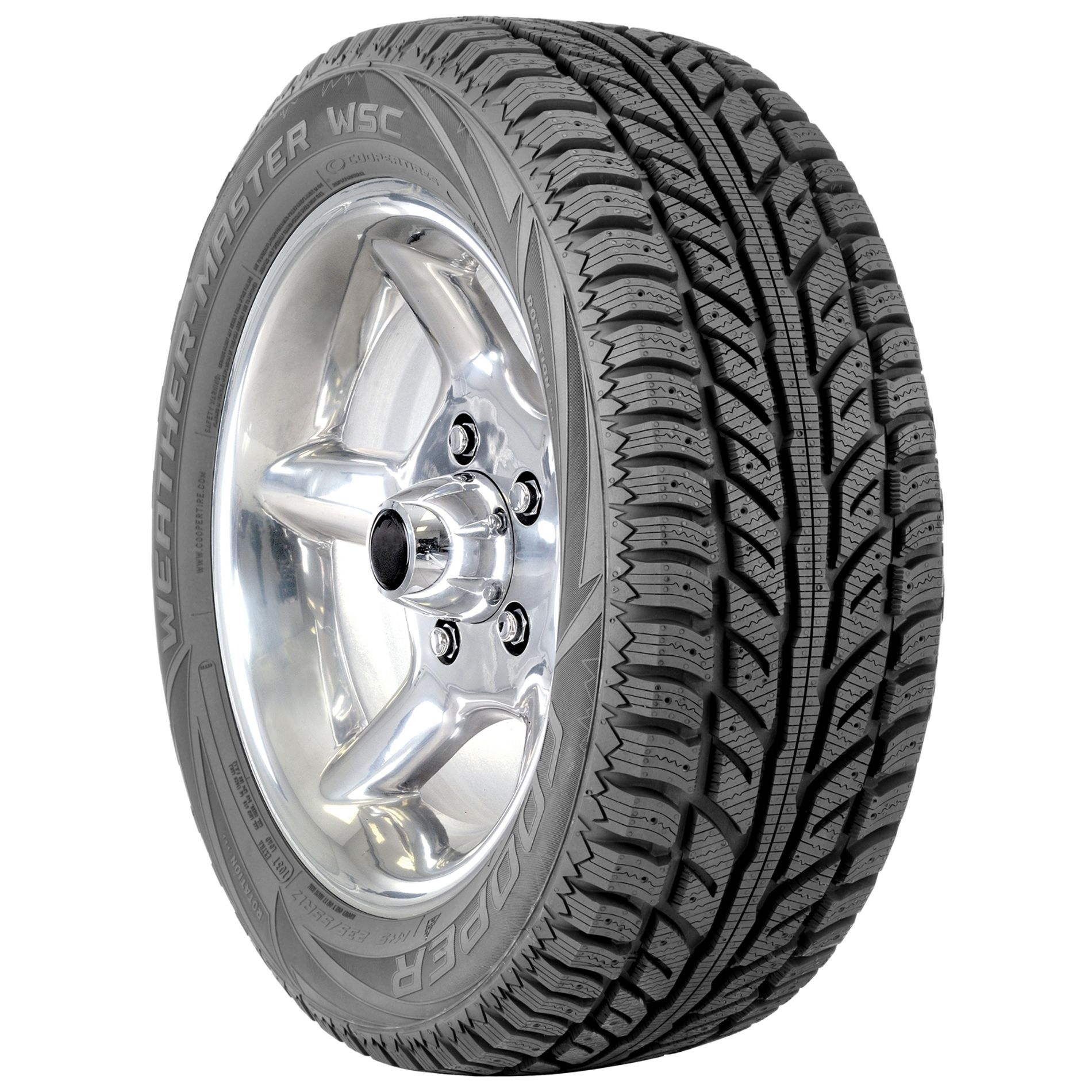 Cooper Weather Master WSC Winter Tire - 215/45R17 91T