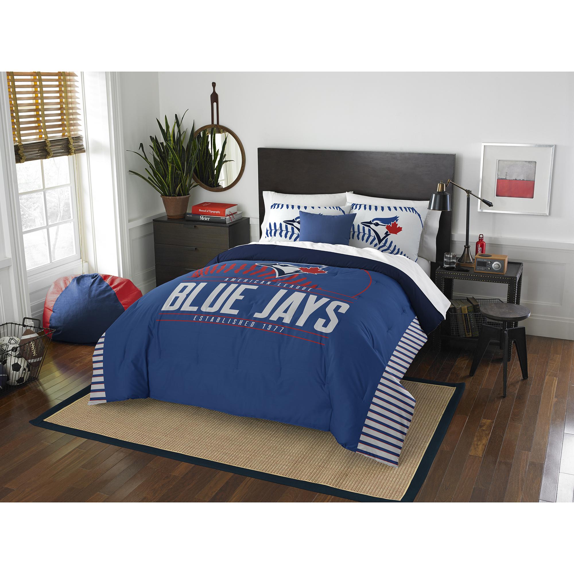 Toronto Blue Jays The Northwest Company Grand Slam Full/Queen Comforter Set