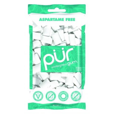 action candy pur chewing gum, 57 ea - walmart