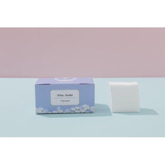 White Rabbit Premium Cotton Pad - Perforated (200 pcs)