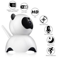 Wireless 1080P Security Camera WiFi Pet Camera Baby Monitor with 2.4GHz, Two-Way Audio, Motion Detection, Pan 350°, Tilt 65°