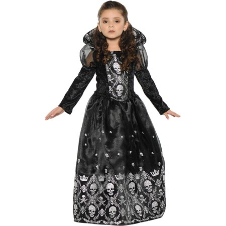 Dark Princess Girls Child Halloween Costume](Elvira Mistress Dark Halloween Costumes)