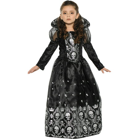 Dark Princess Girls Child Halloween Costume](Princess Bride Halloween Costume)