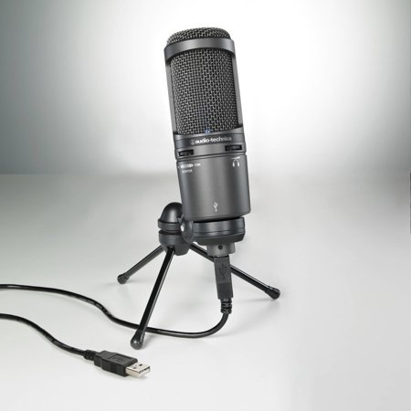 Cardioid Boundary Condenser (Audio-Technica AT2020USB+ Cardioid Condenser USB Microphone)