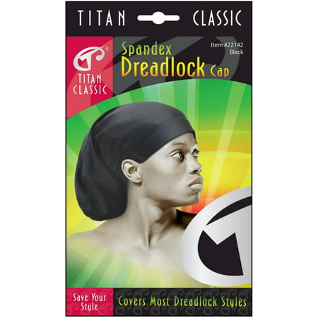 Titan Classic Spandex Dreadlock Cap 1 ea - Hat For Dreadlocks
