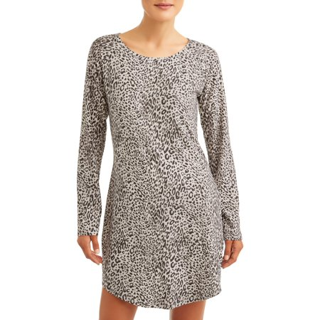 Gloria Vanderbilt Women's and Women's Plus Lush Sleep Shirt
