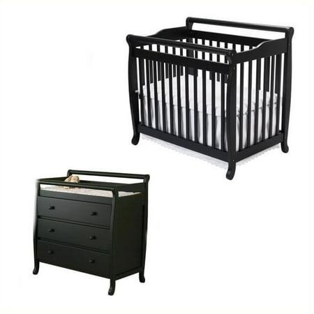 Davinci Emily Mini 2 In 1 Convertible Crib With Changing