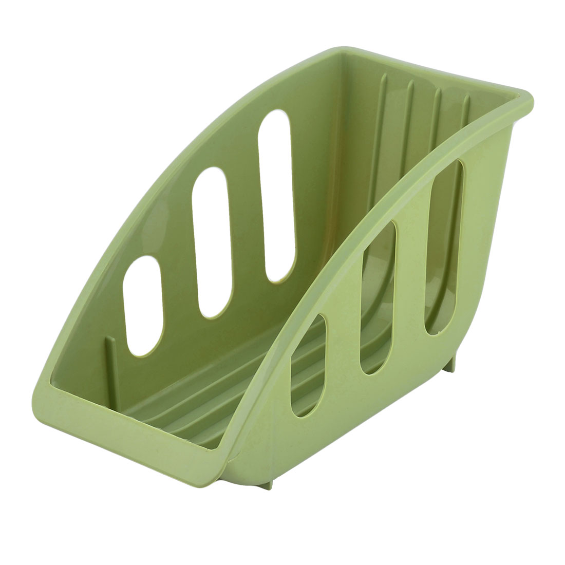 Home Plastic 5 Slots Dish Plate Holder Stacking Stand Drying Rack Case Green  sc 1 st  Walmart & Home Plastic 5 Slots Dish Plate Holder Stacking Stand Drying Rack ...