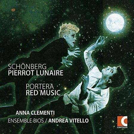 Arnold Schonberg: Pierrot Lunaire Op. 21 - Andrea Portera: Red (Rex Music)