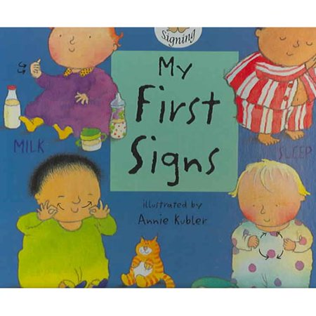 Harris Communications B1262.  Baby Signing - My First Signs Board Book