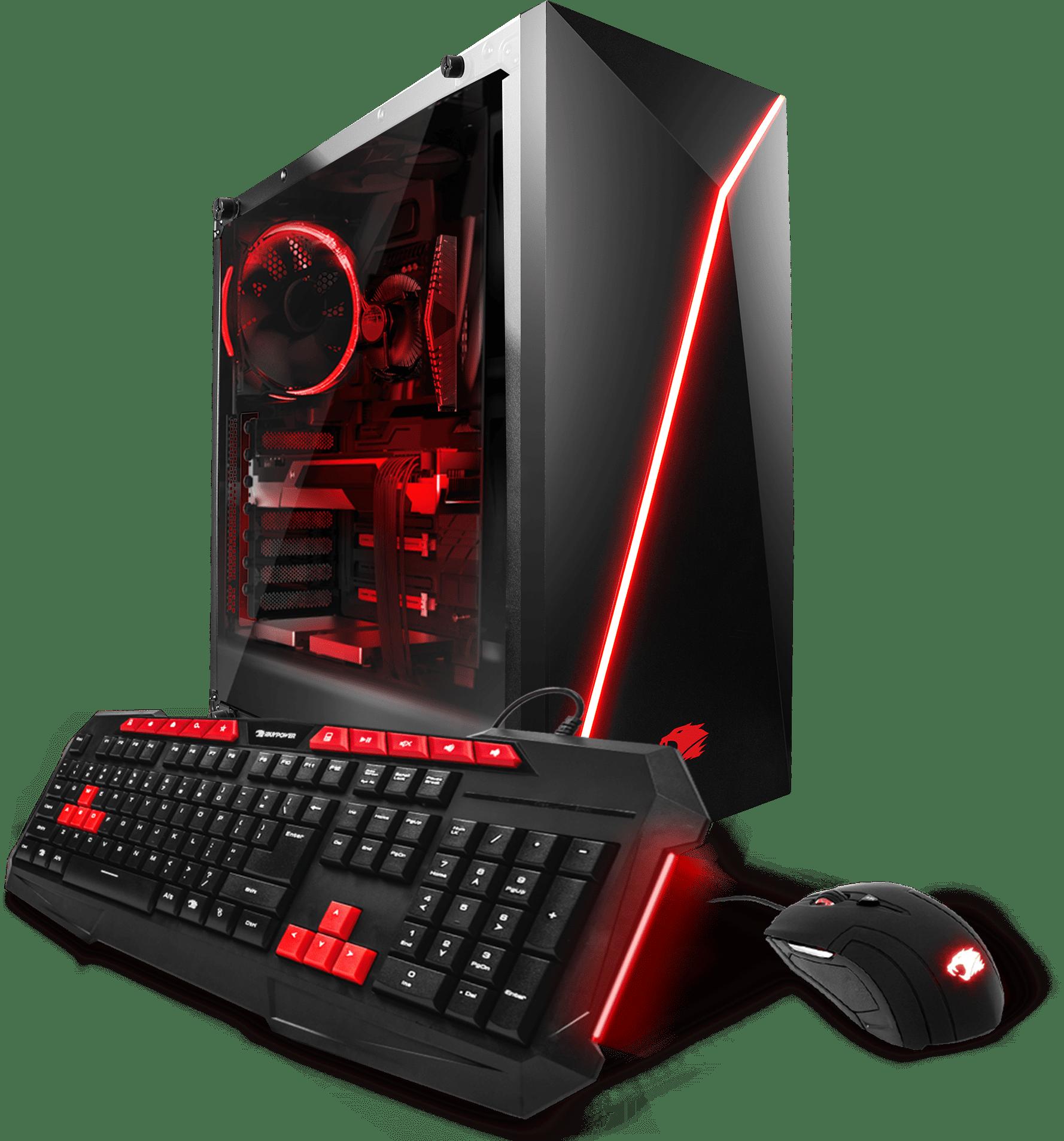Ibuypower Raven Gamer Wa005a Gaming Desktop Pc With Amd Fx
