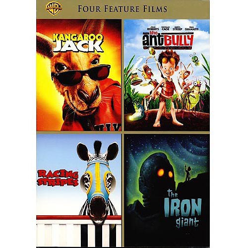 4 Film Favorites: Family Fun - Racing Stripes / Kangaroo Jack / The Iron Giant / The Ant Bully