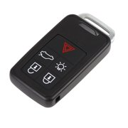 New Replacement Keyless Entry Remote Key Fob 433Mhz KR55WK49264 for Volvo 2010-2017 XC60 2008-2016 XC70