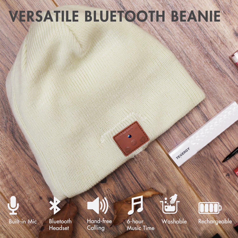 Tenergy Bluetooth Beanie Basic Knit - Walmart.com a49da56de2b