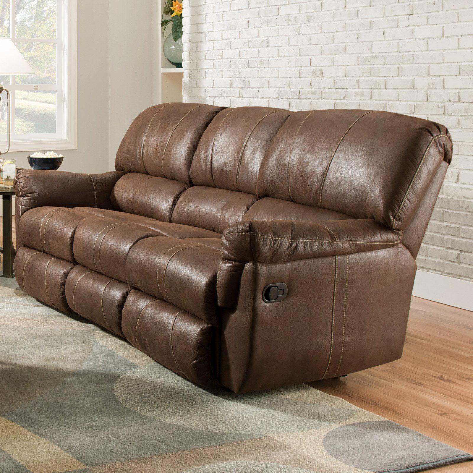 Simmons Upholstery Renegade Beautyrest Sofa   Mocha   Walmart.com
