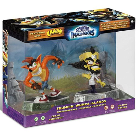 Skylanders Imaginators Thumpin' Wumpa Islands Adventure Pack for $<!---->