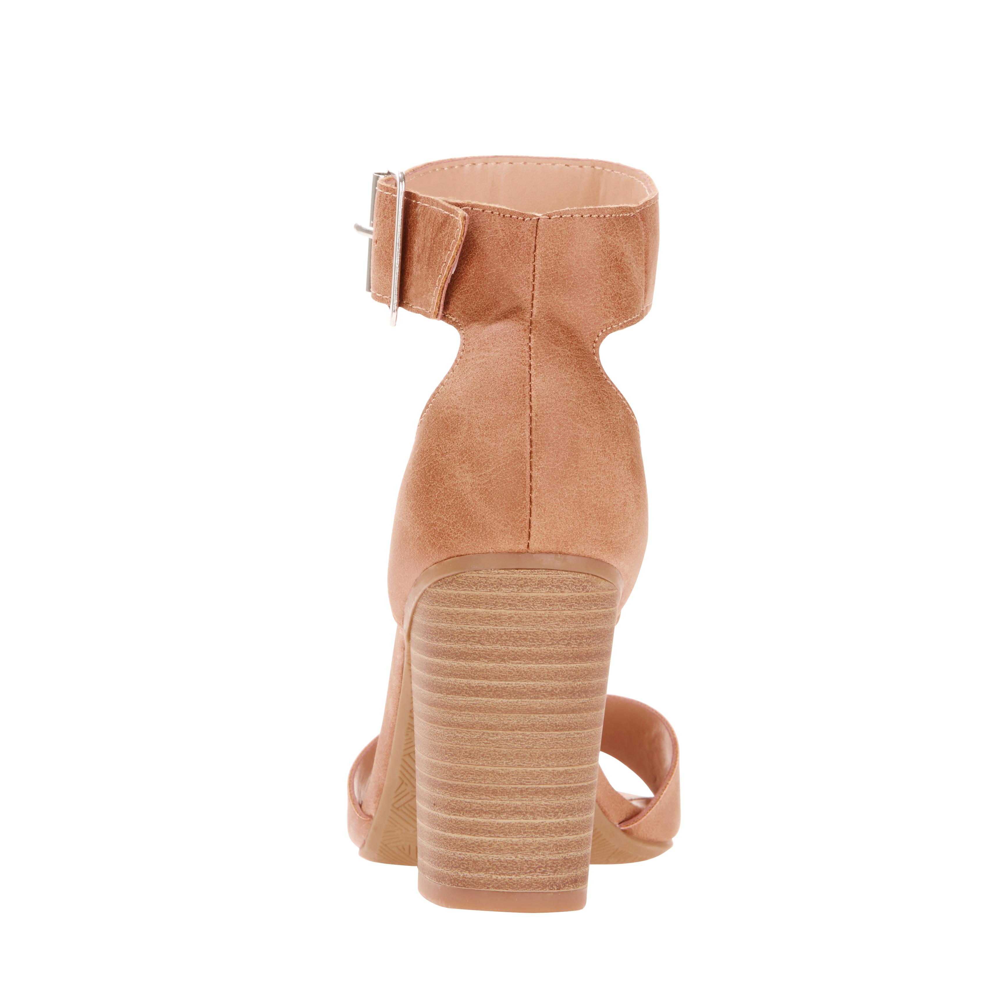 60ccba9e46d Big Buddha - Women s Ankle Strap Heel - Walmart.com