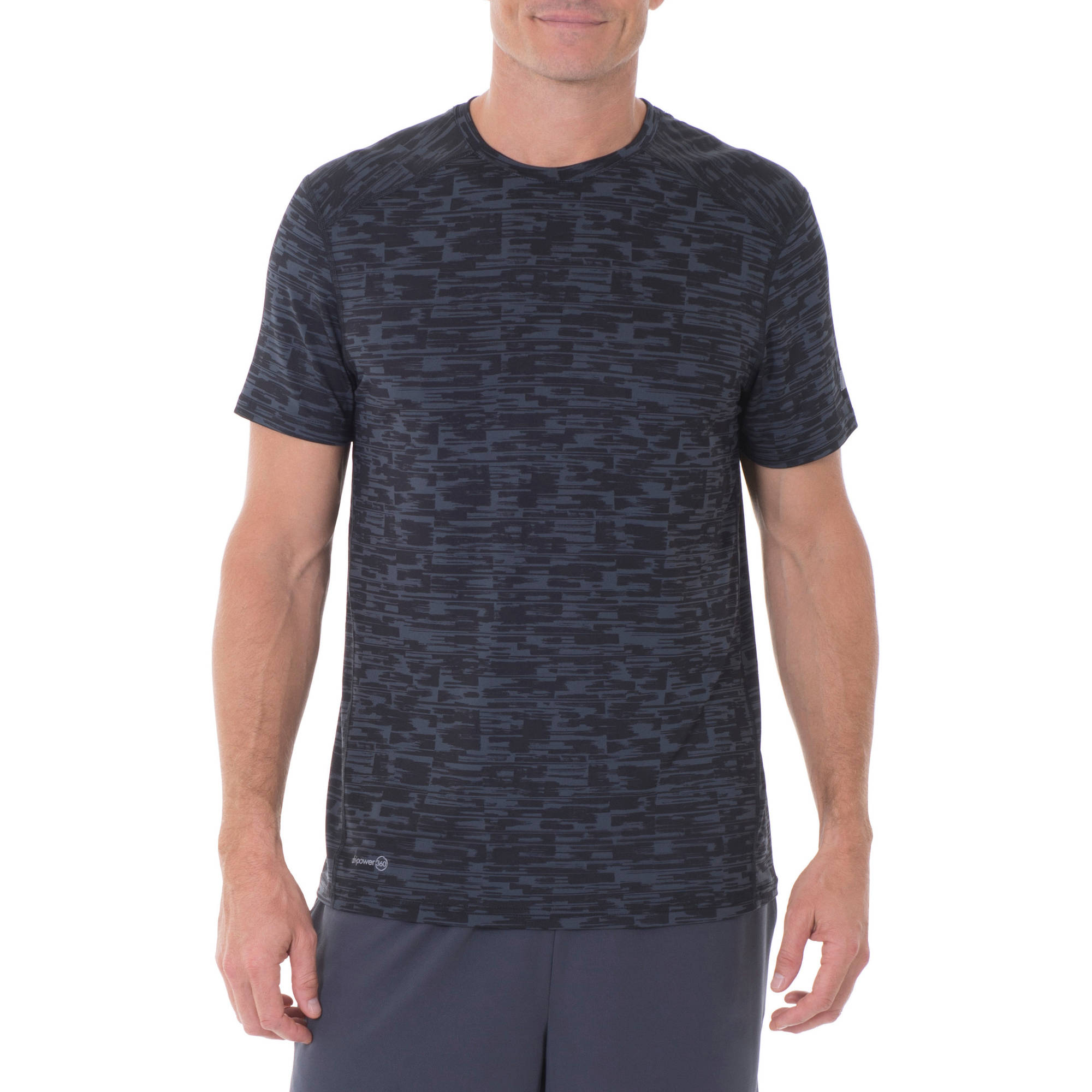 Russell Men's Printed Performance Crew Neck Short Sleeve Tee
