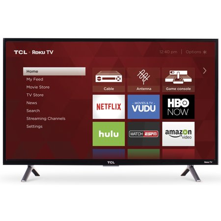 "Refurbished TCL 32"" Class HD (720P) Roku Smart LED TV (32S305)"