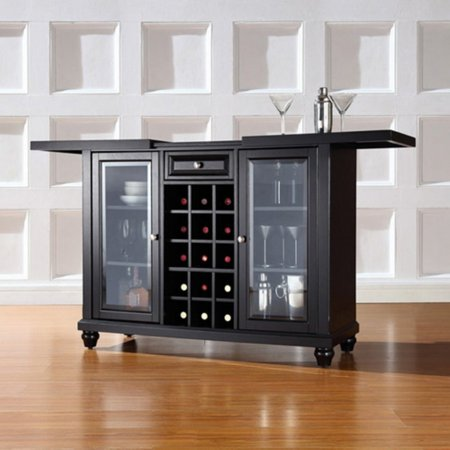 Crosley Furniture Cambridge Sliding Top Bar Cabinet ()