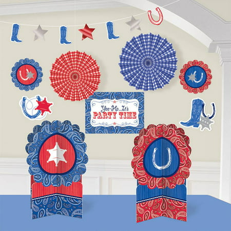 Western Room Decorating Kit (Each) - Party Supplies