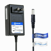T-Power (( 6.6ft Long Cable )) Ac dc Adapter For 12VDC Homedics Massagiing Cushion ADP-8 Massage Chair ( D12-16-P-02 ) SBM-200 MEC-A5715 / ADP-10 BACK MASSAGERS Replacement Switching Power Supply