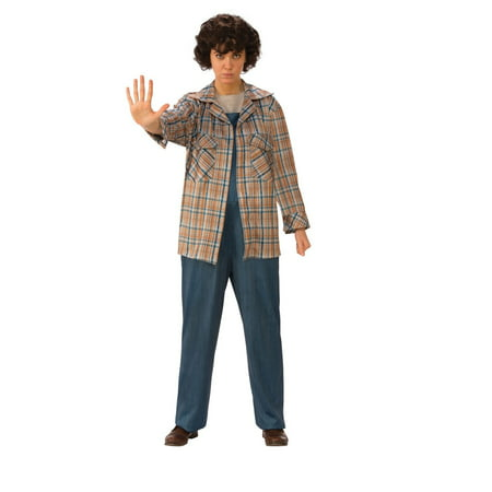 Halloween Stranger Things Eleven's Plaid Shirt](Elven Costumes)