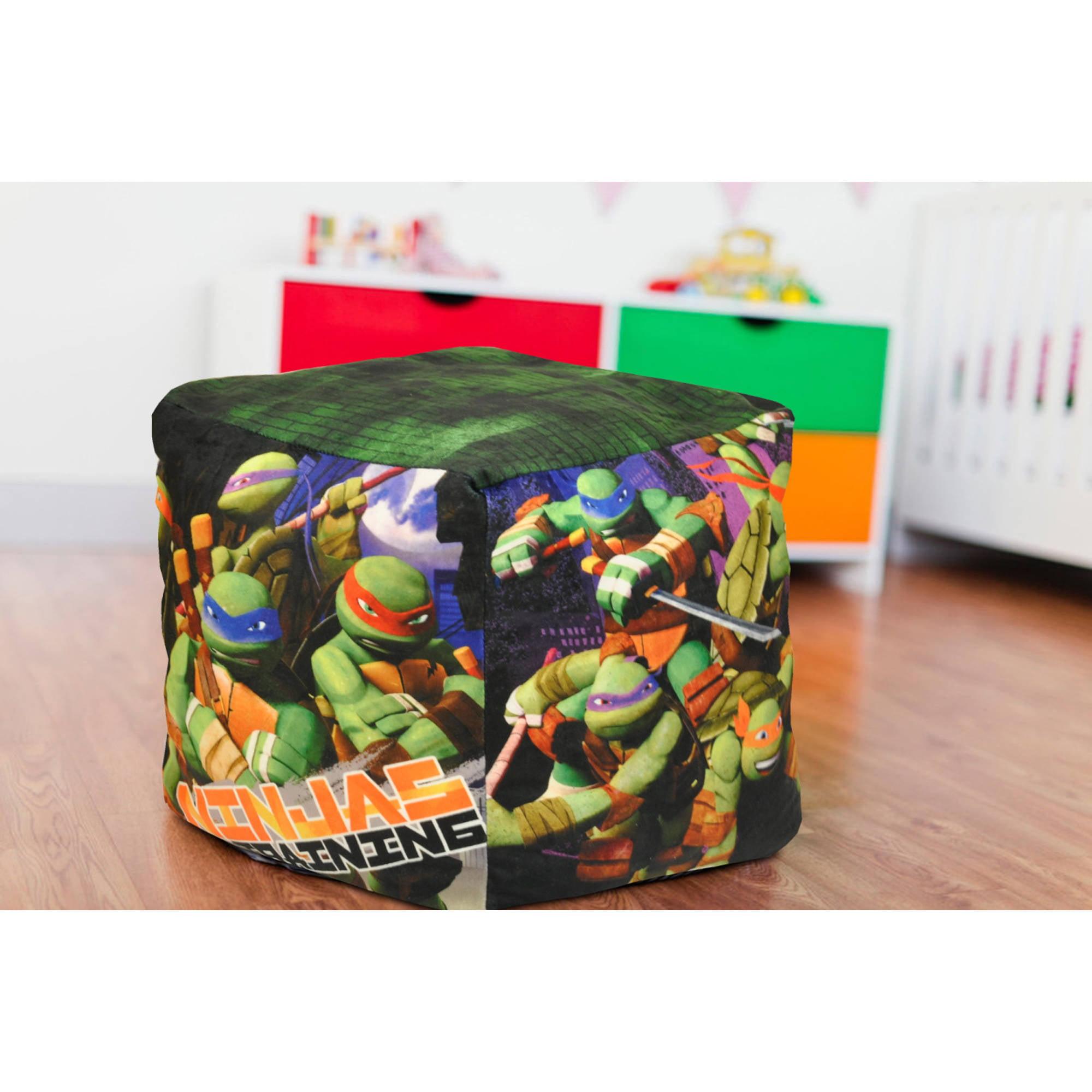 Nickelodeon Teenage Mutant Ninja Turtles Cube Bean Pouf