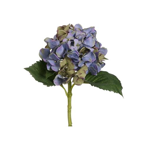 """Pack of 12 Two-Tone Blue-Lavender Hydrangea Artificial Floral Craft Sprays 19"""""""