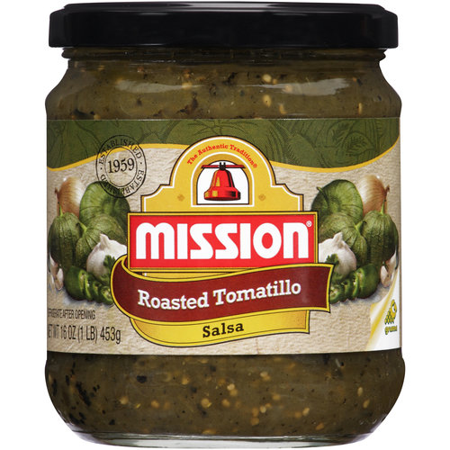 Mission Roasted Tomatillo Salsa, 16 oz