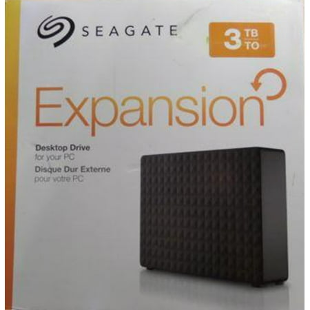 Seagate Expansion 3TB USB 3.0 Desktop External Hard Drive - STEB3000100