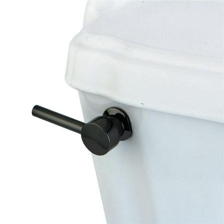 Kingston Brass NKTDL Water Onyx Toilet Tank Lever, Black Stainless Steel Black Wellworth Toilet Tank