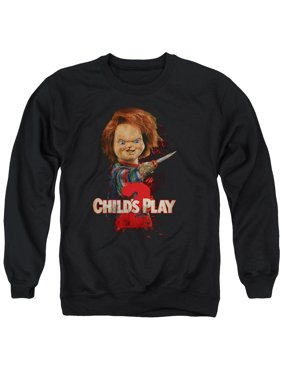 81559a67 Product Image Child's Play 2 Heres Chucky Mens Crewneck Sweatshirt