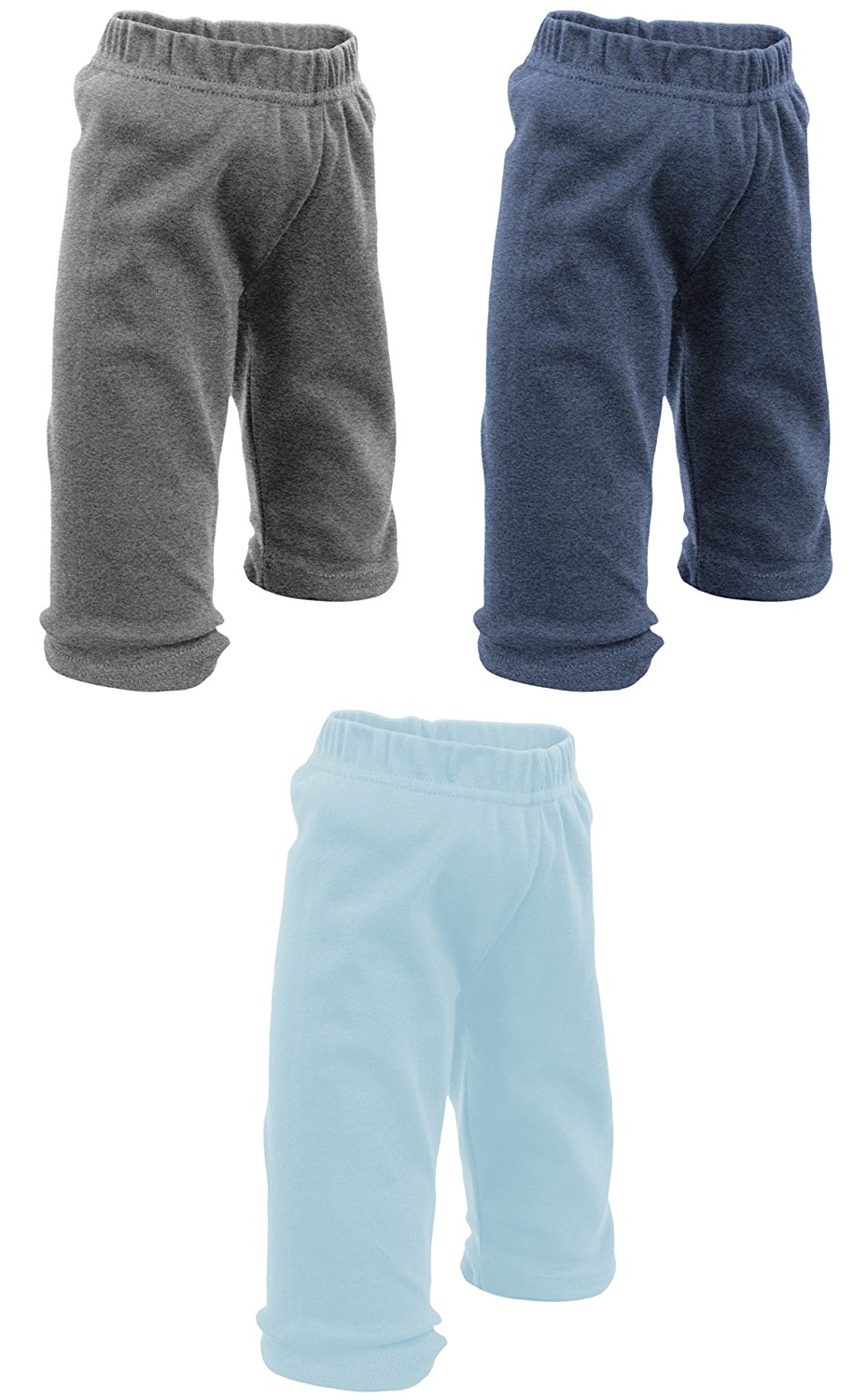 3 Pack Baby PantsCute Baby Clothes BULKBoys /& Girls!by Mato /& Hash