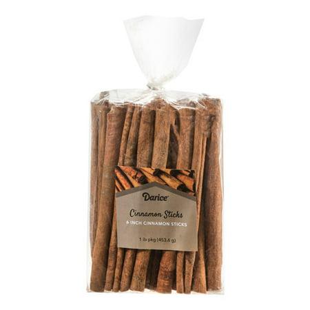 Cinnamon Sticks - 6 inches - 1 lb (Six Sticks)