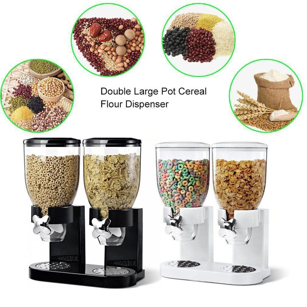 Multifunctional Pasta Cereal Dry Food Dispenser Storage Container Dispense Household Kitchen Machine for Gift