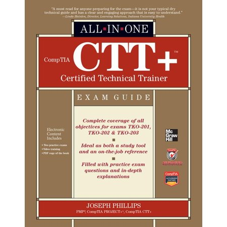 All In One  Comptia Ctt  Certified Technical Trainer All In One Exam Guide  Other