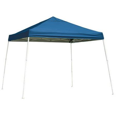 10' x 10' Sport Pop-up Canopy Slant Leg Blue Cover
