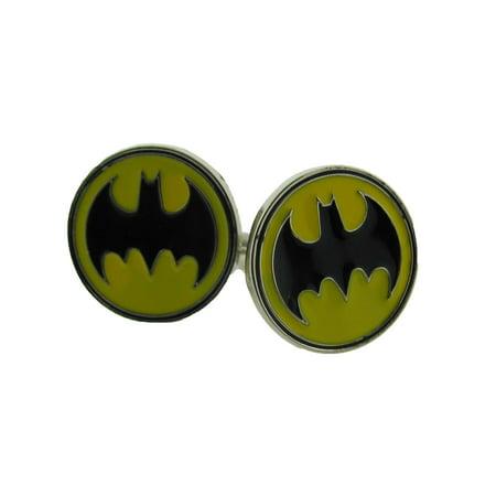 Batman Original Cufflinks DC Comics Warner Bros American Superhero Metal Wedding (Superhero Wedding)