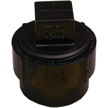 Genova 88630 Cleanout Plug 3 in Spigot x FIP SCH 40 ABS