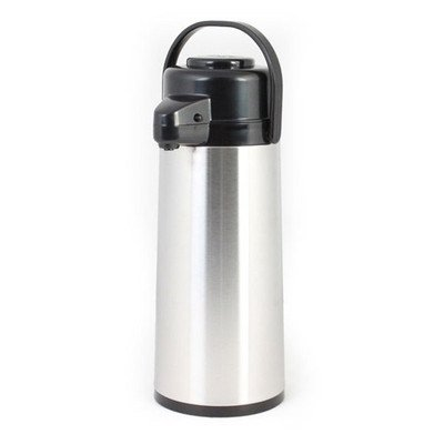 Coffee Pump Pots - 1.9 Liter Hot Coffee Pump Dispenser Air Pot Warmer Server