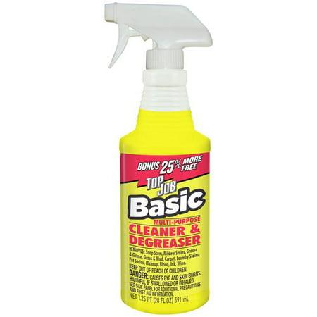 . Top Job Basic Multi Purpose Cleaner   Degreaser  20 fl oz