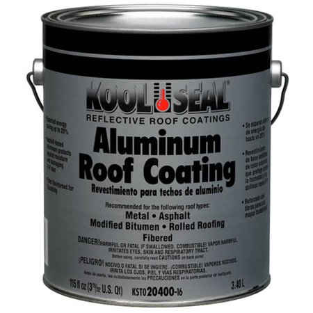 Kool Seal Aluminum Roof Coating Walmart Com