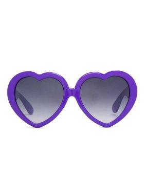 840d908e1b Free shipping. Product Image Gravity Shades Oversized Heart Shaped  Sunglasses